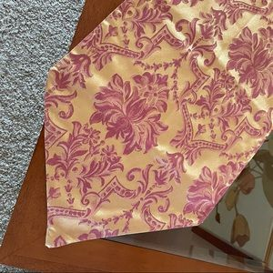 Waterford Gold Damask Table Runner